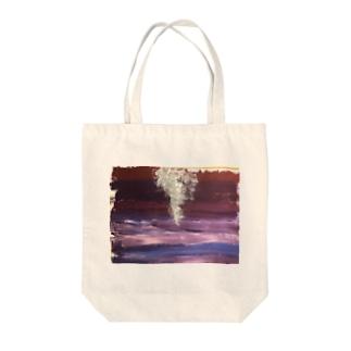 「狼煙」 Tote bags