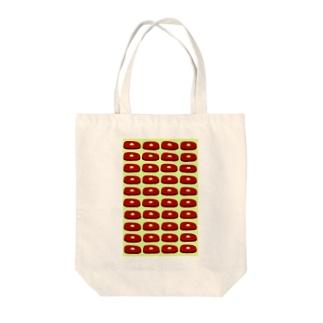 ステーキ(緑) Tote bags
