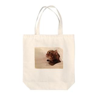 キャラメル Tote bags