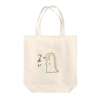 つよい Tote bags