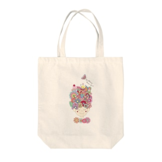 An Almost Flower Girl Tote bags