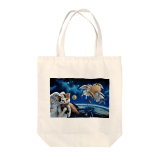 Angelcatsからの恵み。 Tote bags