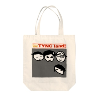 THE TYNC land Tote bags