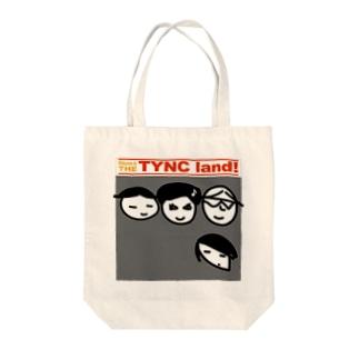THE TYNC land Tote bags
