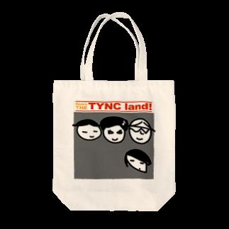 Kekyo & Yoritan RECORDSのTHE TYNC landトートバッグ