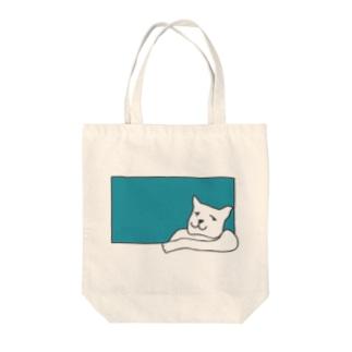 おやすみドッグ Tote bags