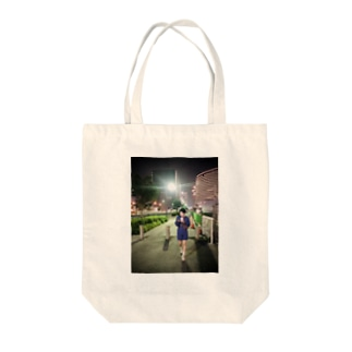 横浜凱旋がーる Tote bags
