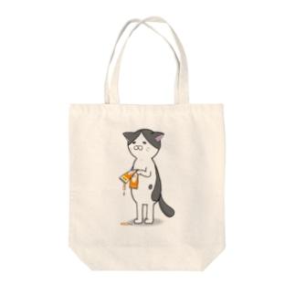しょんぼり猫 Tote bags