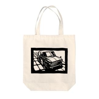 モーリスmini切り絵デザイン Tote bags