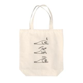 ネコのおやつの時間 Tote bags