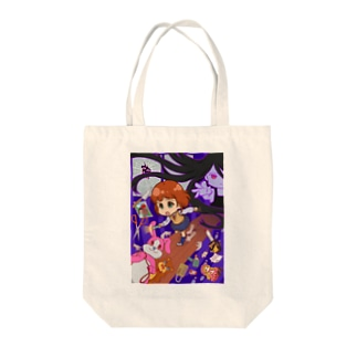 ホラーショウ Tote bags