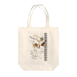 CatChips concert-鍵盤2 Tote bags