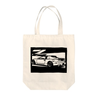 NISSAN フェアレディZ Z32切り絵デザイン1 Tote bags