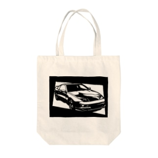 NISSAN フェアレディZ Z32切り絵デザイン2 Tote bags