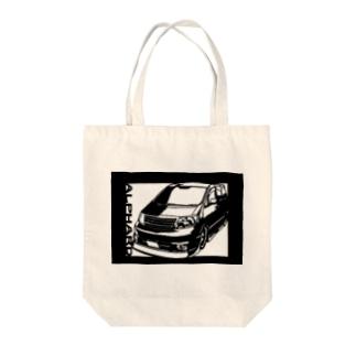 TOYOTA アルファード 切り絵デザイン1 Tote bags