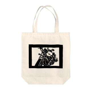 HARLEY-DAVIDSON スポーツスターXL1200L切り絵デザイン Tote bags