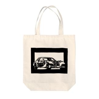 MITSUOKA ラ・セード切り絵デザイン トートバッグ