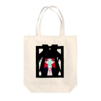 『永眠ちゃん』 Tote bags