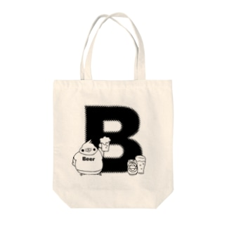 ふくよかオカメのイニシャルグッズ【B】 Tote bags