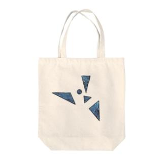 鋭利な青 Tote bags