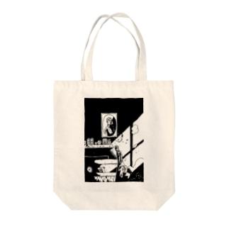 幽鬼 Tote bags