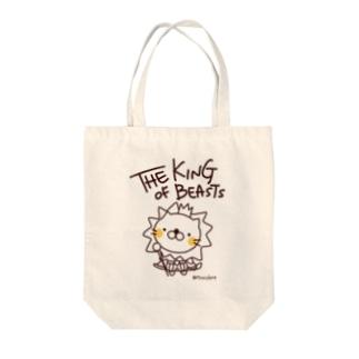 百獣の王ライオンくん Tote bags