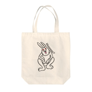 ウサ Tote bags