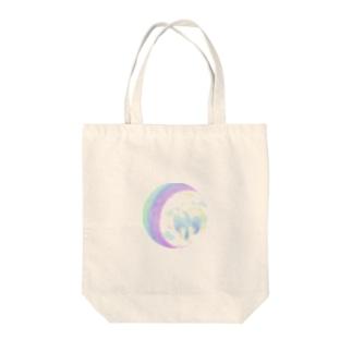 Rainbow Spirit Bird ラウンド Tote bags