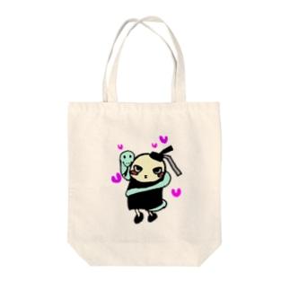 亀童丸くんグッズ Tote bags