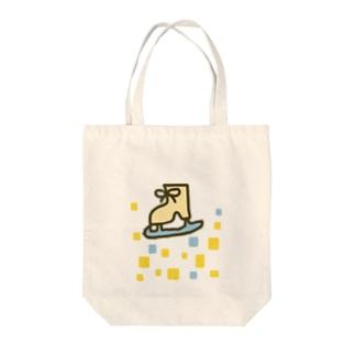 キラキラスケート靴 Tote bags
