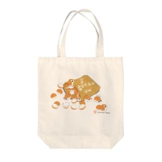 《Goods》鈴カステラ・ロボロフスキーハムスター  Tote bags