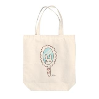 ロゴミラーシリーズ Tote bags