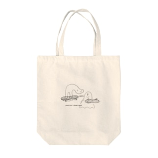 Ghost boarder Tote bags