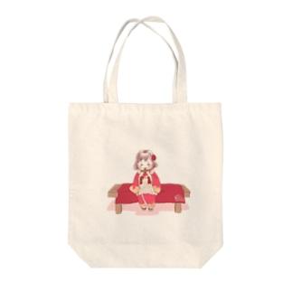 七五三の女子 Tote bags