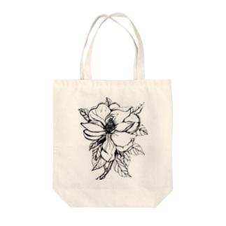 マグノリア Tote bags