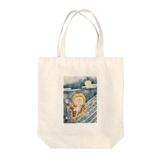妖怪 鵺(ぬえ) Tote bags