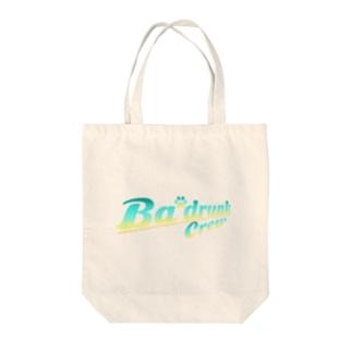 Ba'drunk ロゴデザインVer.2(Tropical) Tote bags