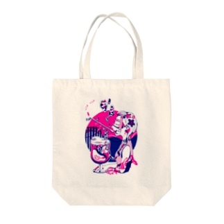 江ノ島フロート Tote bags
