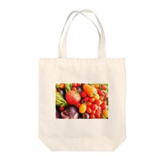 ベジタブル Tote bags