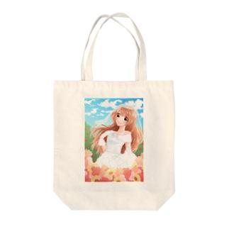 ジューンブライド Tote bags