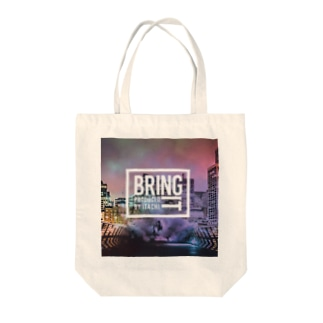 Bring It-Produced By ITACHI- Powered By Bounce Tote bags