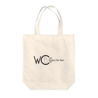 Working Class Beat Tote bags