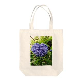 紫陽花 トートバッグ