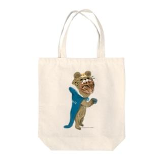 くまおうなみこと Tote bags