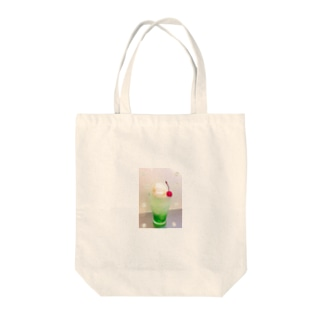 メロンクリームソーダ Tote bags