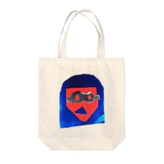 メガメガ Tote bags