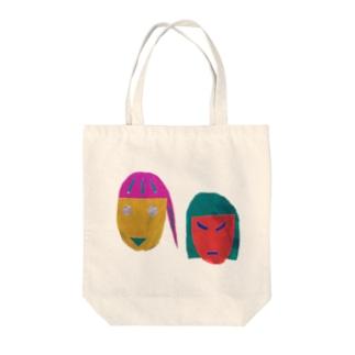 キラキン Tote bags
