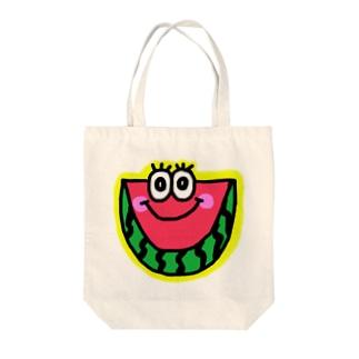 スイカくん🍉💗 Tote bags