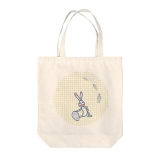 窪田友紀子イラスト画、うーたんグッズ Tote bags
