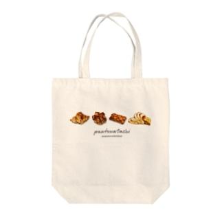 パンとわたし。 Tote bags